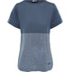 The North Face W's Inlux S/S Top Vanadis Grey Heather